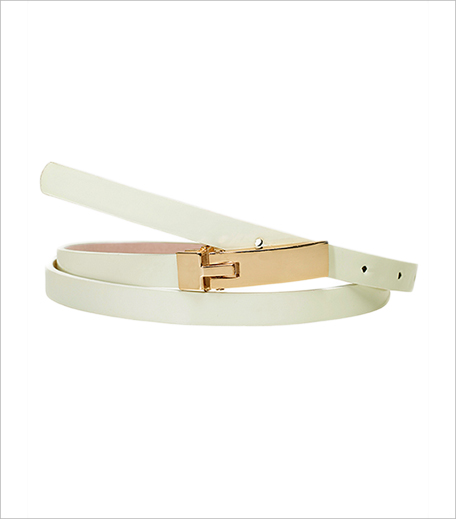 Faballey White Skinny Couturier Belt_Hauterfly