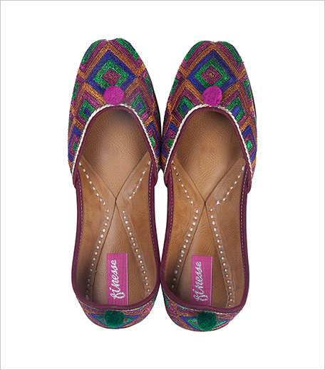 Finesse Multicolor Embroidered Zari Mojris in post_Hauterfly