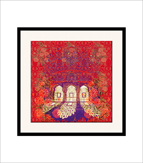 Floral Avenues Framed Wall Art inpost_Hauterfly