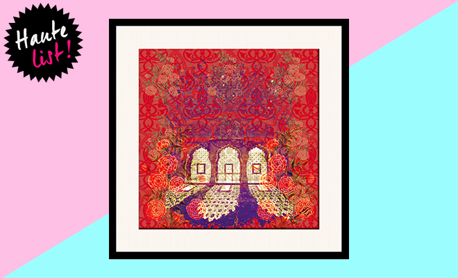 Floral Avenues Framed Wall Art_Hauterfly
