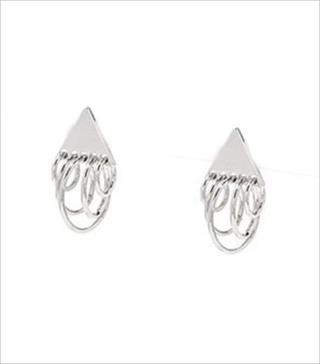 Forever 21 Multi-Hoop Triangle Studs_Hauterfly