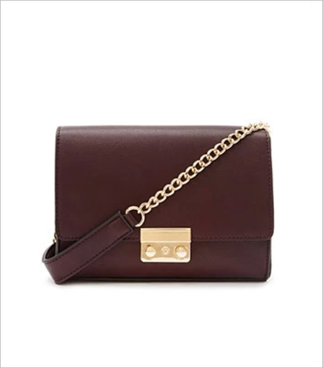 Forever New Faux Leather Chain-Strapped Crossbody_Hauterfly