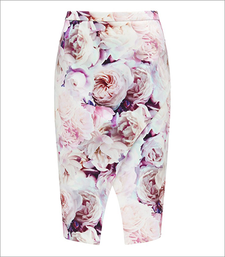 Forever New Floral Pencil Skirt_Hauterfly