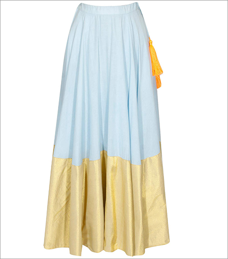 Karishma Shahani KaSha Maxi Skirt_Hauterfly_