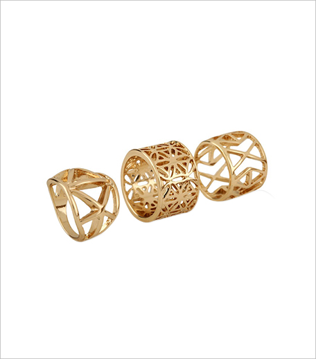 Koovs Multi Pack Filigree Ring_Hauterfly