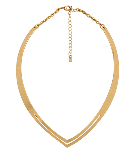 Koovs Pointed Collar Necklace_Hauterfly