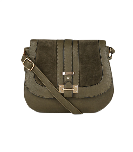 New Look 70's Suedette Panel Saddle Bag_Hauterfly