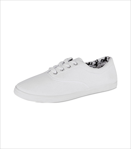 New Look Lace-up Soft Tennis Sneakers_Hauterfly
