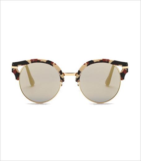 Pataaka Winked Cat-eye Brown Sunglasses_Hauterfly