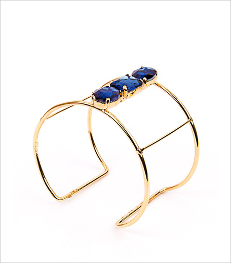 Shop Lune Dana Three Stone Gold Cuff_Hauterfly