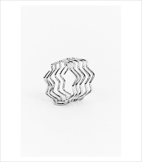 Shoplune Waki Chevron Stacked ring_Hauterfly