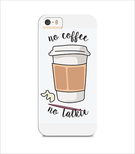 Style Fiesta Coffee First Phone Cover_Hauterfly