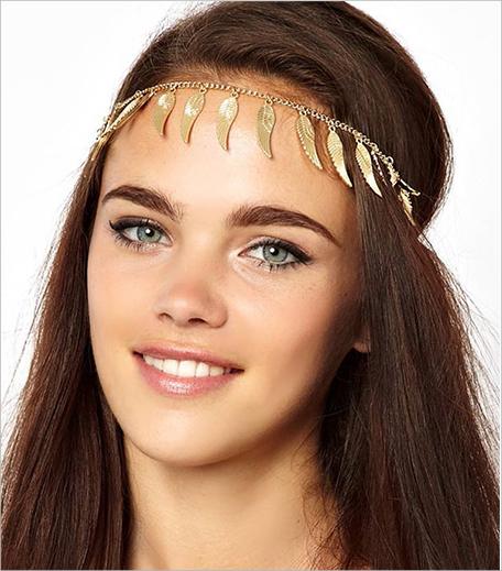 Style Fiesta Gold Wing Headband_Hauterfly