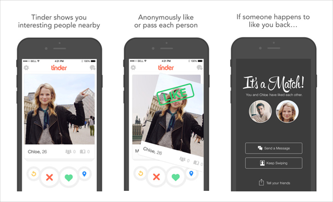 Tinder dating app for android