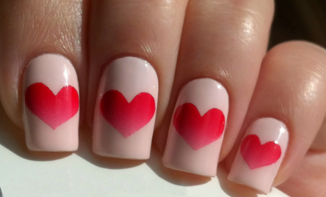 Valentine's Day Nail Art Idea_Hauterfly