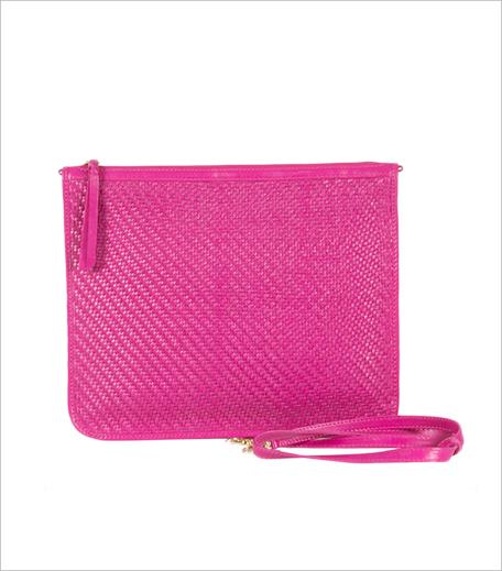 Vitasta Pink Leather Crossbody Bag_Jabong_Hauterfly
