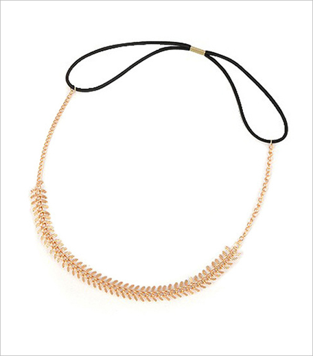 Young & Forever Fishbone Chain Hairband_Hauterfly