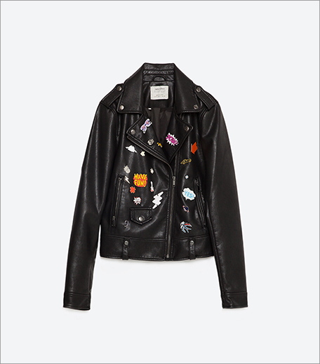 Zara Faux Leather Jacket_Inpost_Hauterfly