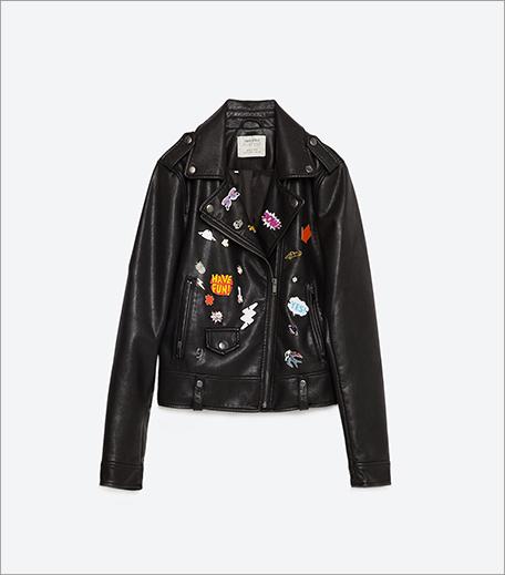 Zara Faux Leather Jacket_Inpost_Hauterfly