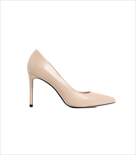 Zara Leather High Heel Shoes 1_Hauterfly