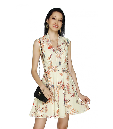 20 Dresses Flowers In Bloom Printed Dress_Hauterfly