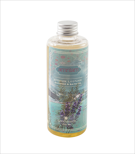 Amritam Kashmir Lavender Shower & Bath Oil_Hauterfly