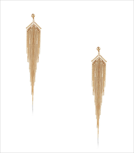 Blueberry Drop Tassel Earrings at Koovs_Hauterfly