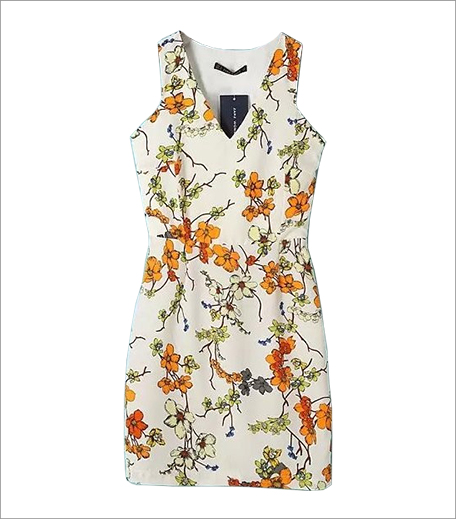 Closet Diaries T Back Printed Dress_Hauterfly