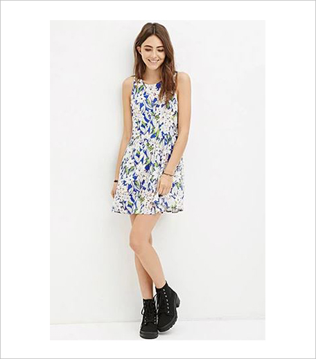 Forever 21 Floral Smock Dress_Hauterfly
