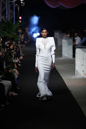 Gaurav Gupta Melt White Gown_AIFW AW16_Hauterfly