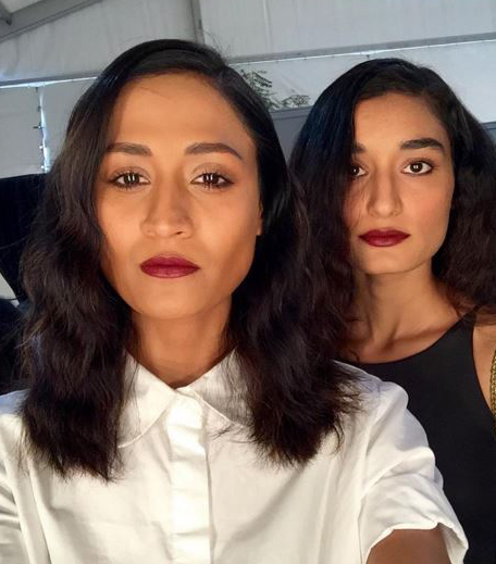 Hemant & Nandita-Pallavi Mohan AIFW AW16 Scarlet Lips_Hauterfly