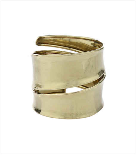 Imli Street_Golden Brass Bracelet_Hauterfly