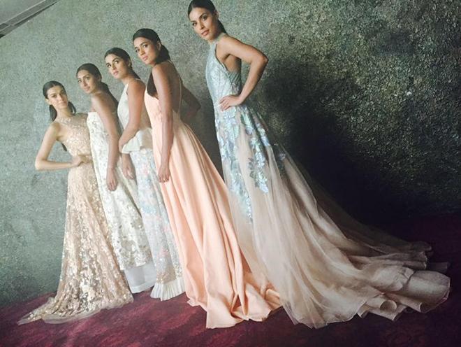 Manish Malhotra LFW 2016 collection 3_Hauterfly