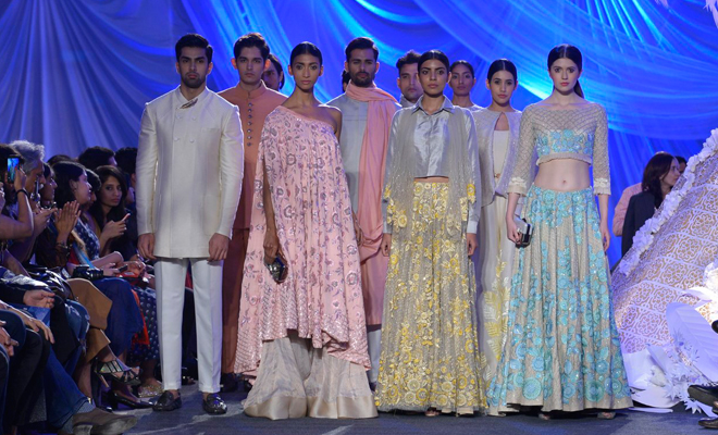 Manish Malhotra Show for LFW Summer Resort 2016