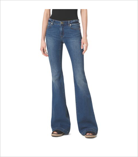 Michael Kors_Five-Pocket Flared Jeans_Hauterfly