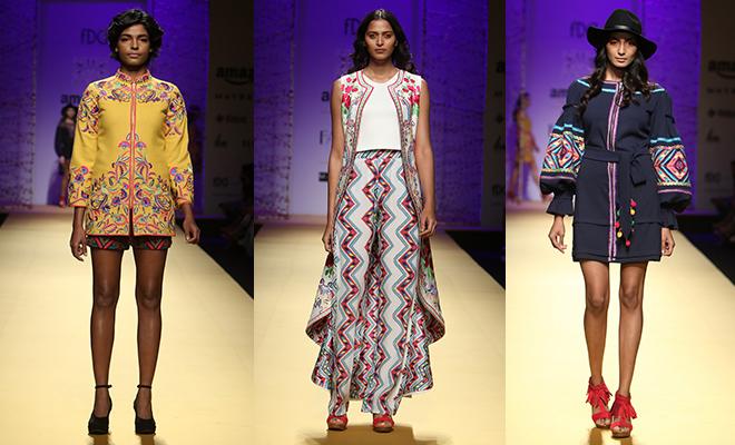 Mynah By Reynu Taandon _Amazon India Fashion Week AW 16_Hauterfly