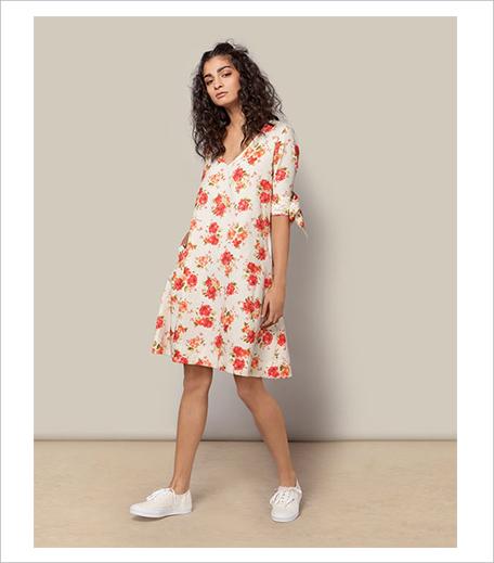 Nicobar A-line Dress_Cheent_Hauterfly