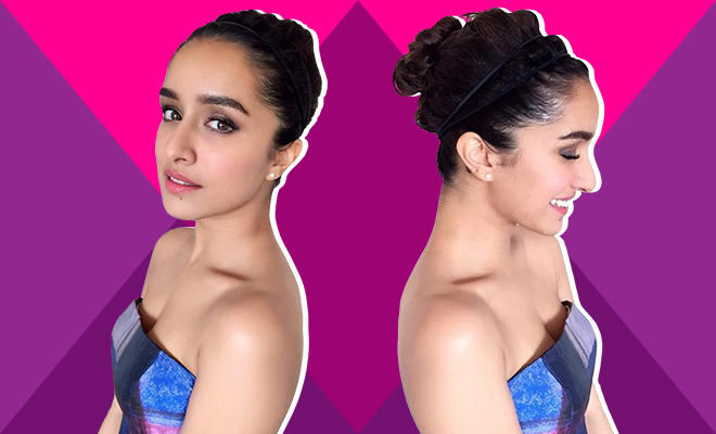 Shraddhas Preppy Makeup Updo Are Just What You Need For Prom