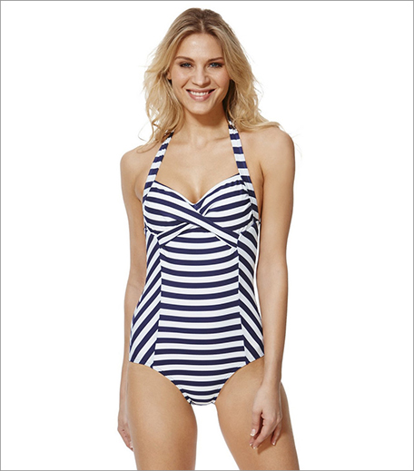 Striped Halterneck Swimsuit_inpost_Hauterfly