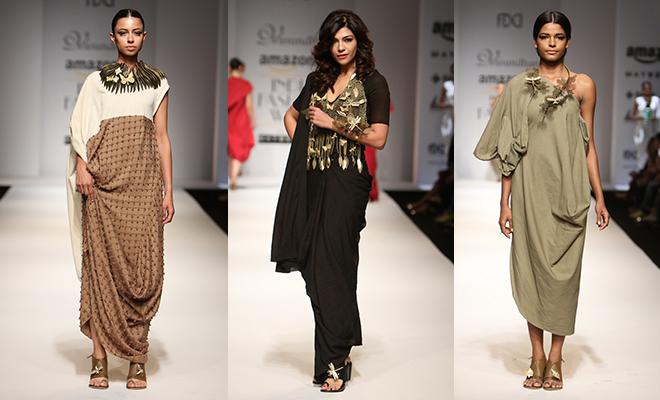 Vasundhara _Amazon India Fashion Week Autumn Winter 2016_Hauterfly