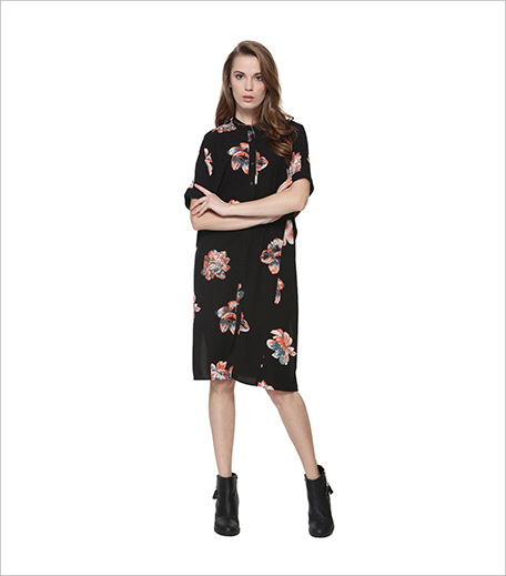 Vila Bloom Print Button-through Dress_Hauterfly