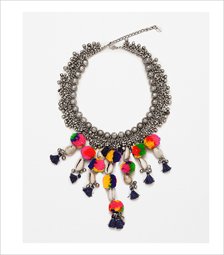 Zara Pompom & Bead Necklace_Hauterfly
