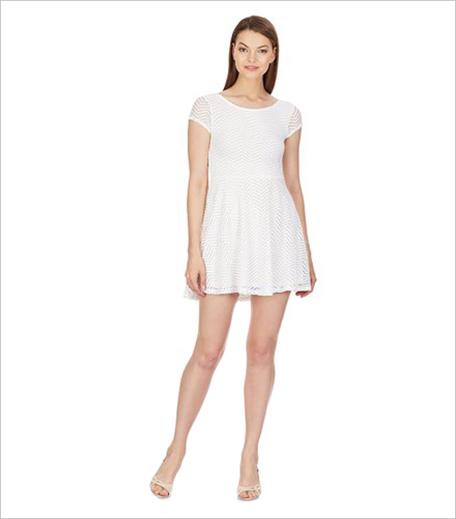Aéropostale White Skater Dress_Hauterfly
