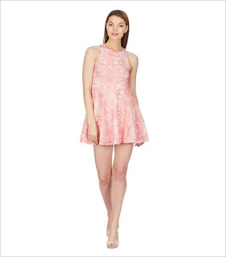 Aéropostale Women's Skater Dress In Pink_Hauterfly