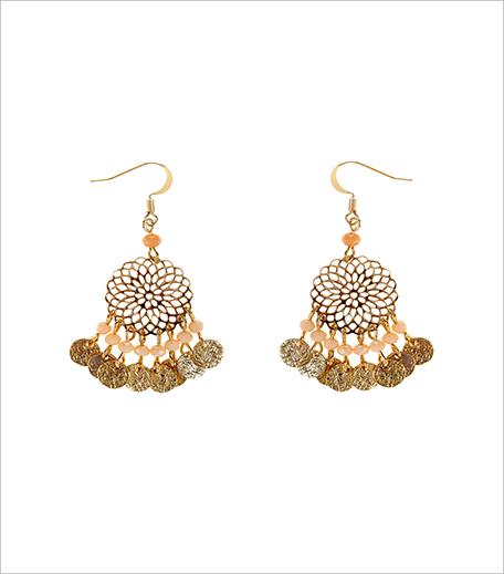 Accessorise Filigree Bead Short Drop Earrings_Hauterfly