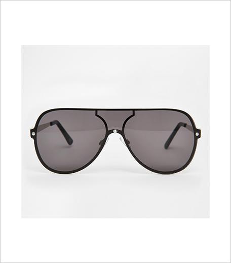 Asos Flat Lens Aviator Sunglasses_Hauterfly