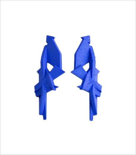 Cult Curators 3D Printed Earrings Fragments_Hauterfly