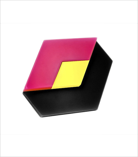 Cult Curators Black Cuboid Ring_Hauterfly
