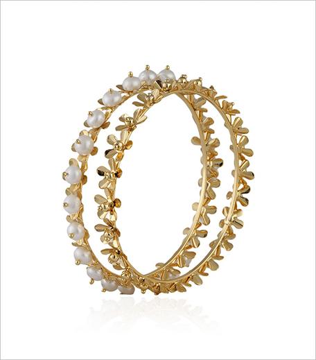 Dang Gold plated pushp kali bangle set_Pernia's Popup Shop_Hauterfly