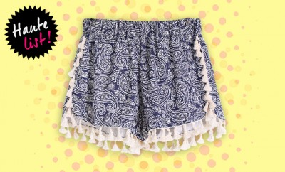 Editors Pick The Style Syndrome Tassel Shorts_Hauterfly